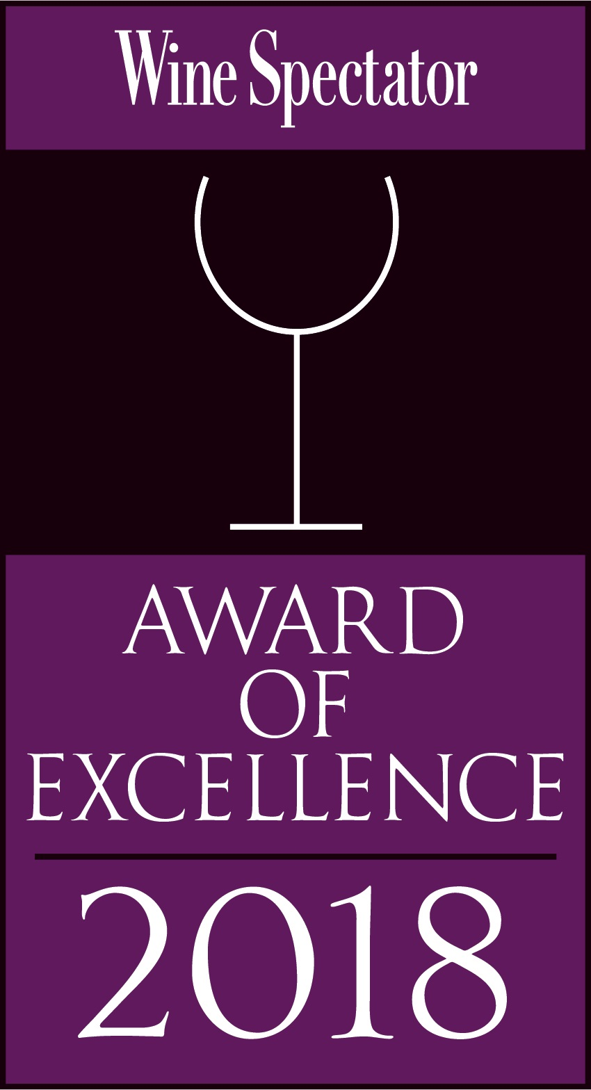 WineSpectator Award 2018
